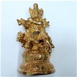 Antique Metal Krishna