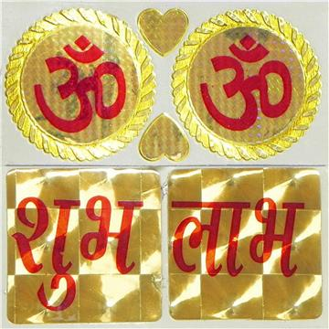Om and Shubh Labh