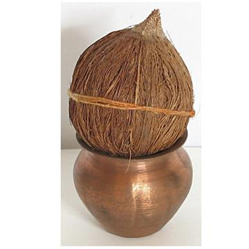 Kalash with Coconut