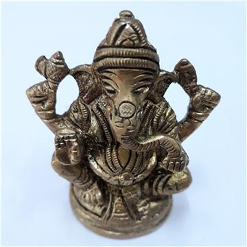 Antique Metal Ganesh
