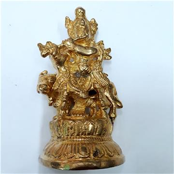 Antique Metal Krishna