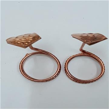 Copper Snake Pair