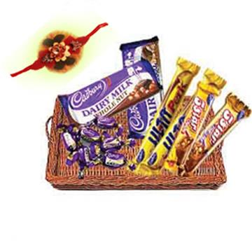 Basket Full of Chocolate
