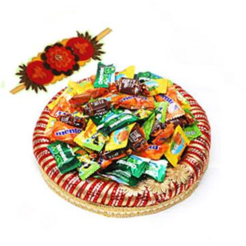 Candy Treat with Rakhi